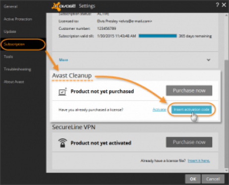 Avast Cleanup activation code + 2017 Crack