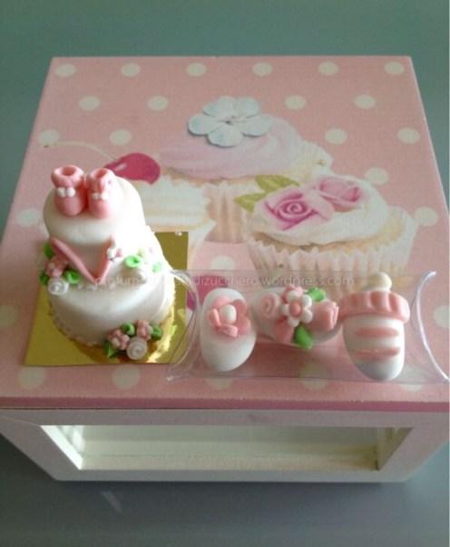 Mini Cake bomboniera e confetti decorati