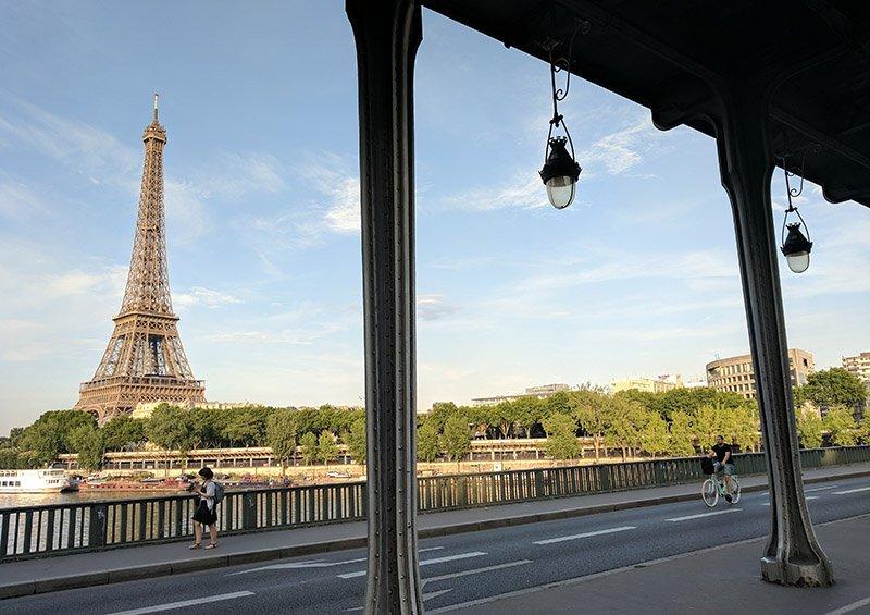 Bir Hakeim y Torre Eiffel