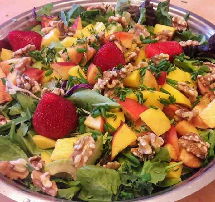 Summer Salad: Nature's bounty on a salad platter