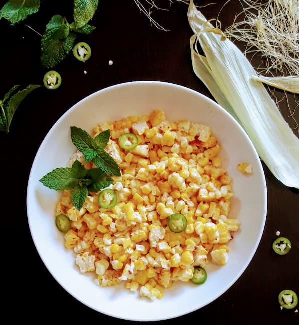 Mexican Street Corn Salad-Elote-InstantPot