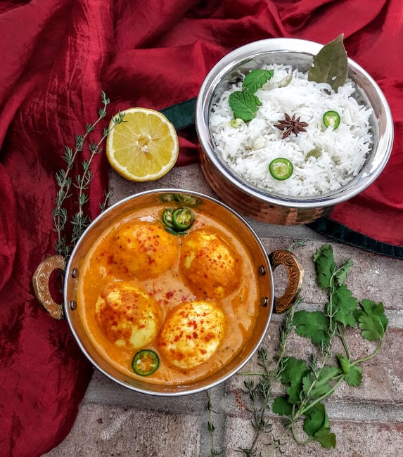 Egg Curry – InstantPot – Glutenfree