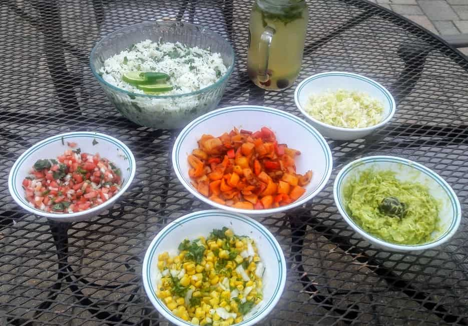 Make Your Own Taco Bar-ProfusionCurry