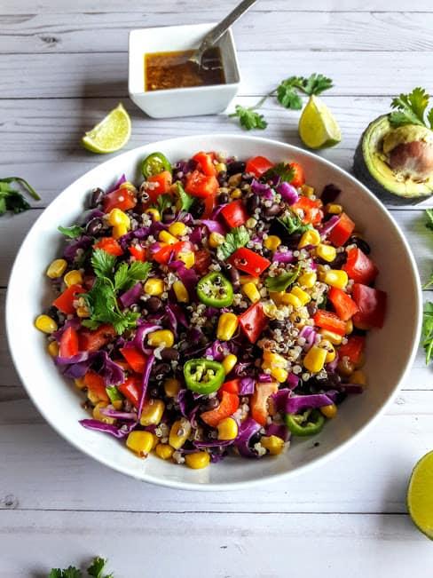 Tex Mex Quinoa – InstantPot – Vegan