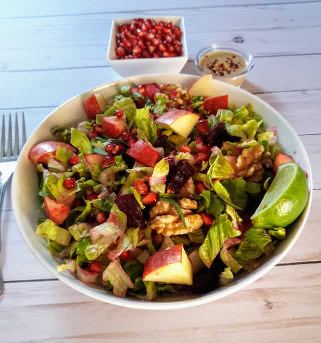 Rainbow Autumn Salad Recipe