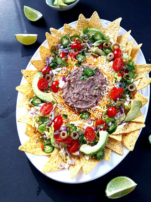 Super Delicious Nachos Gameday Recipe