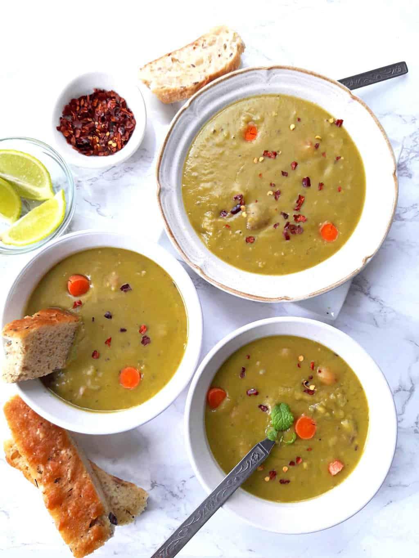 Vegan Split Pea Soup InstantPot