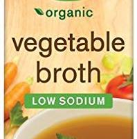 Pacific Foods Organic Vegetable Broth, Low Sodium,32 Oz,2 Pack