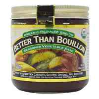 Better Than Bouillon Organic Vegetable Base 16 Oz, Reduced Sodium (Original Version)