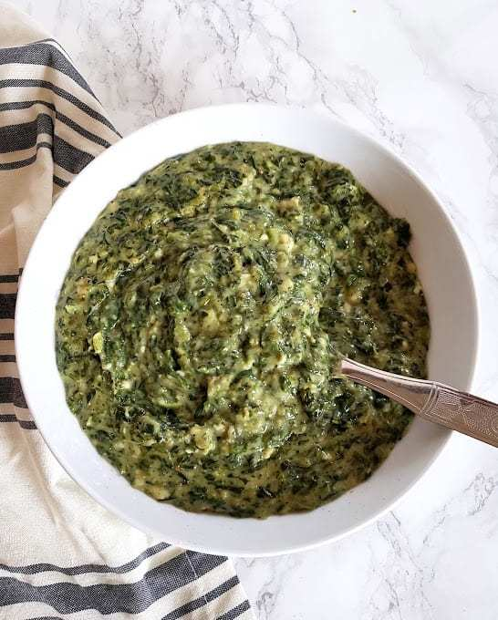 Creamed Spinach Recipe – Keto, Vegan, Instantpot