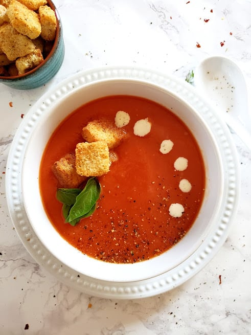 Creamy Tomato Soup Instantpot