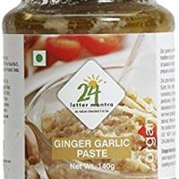 Organic Ginger Garlic Paste 10 Ounce - 24 Mantra Organic