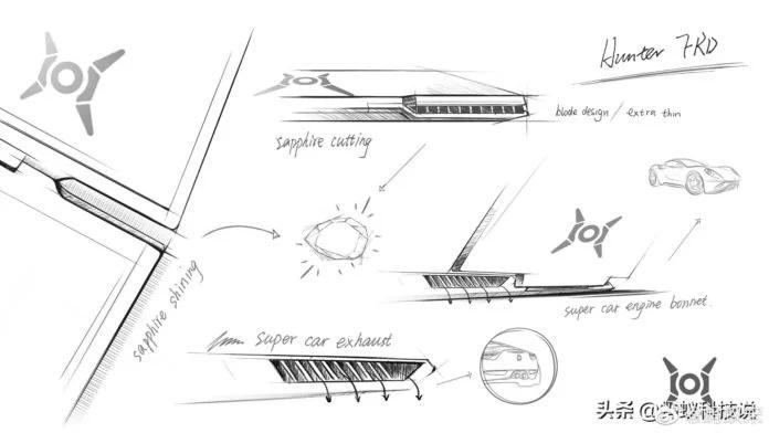 Концепт дизайну ноутбуків Hunter
