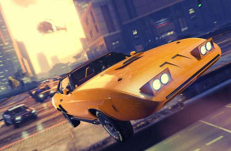 GTA V Online оновлення