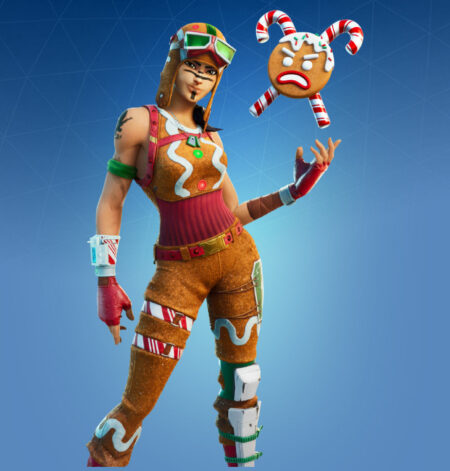 Fortnite Gingerbread Raider Skin - All New Fortnite Leaked Skins & Cosmetics List (v14.60).