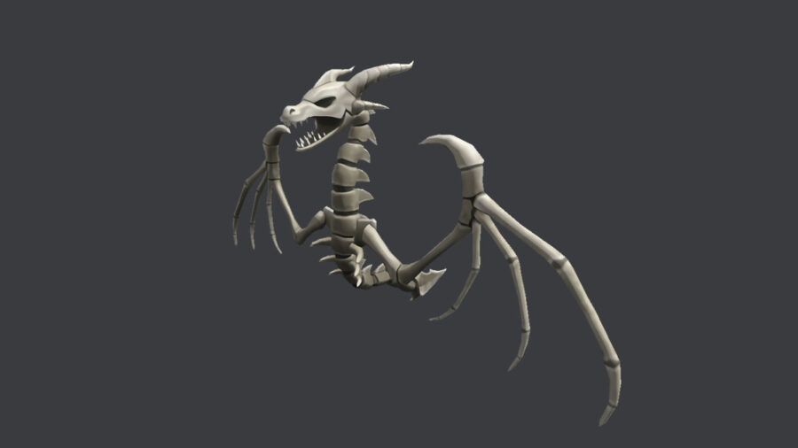 Roblox Prime Gaming Wyrm Skeleton