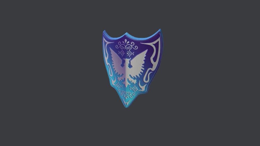Elemento de avatar Roblox Shield of the Sentinel