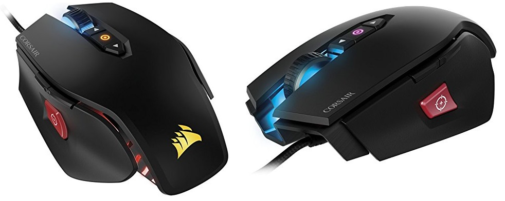 image of 2 mice from Corsair gaming gear