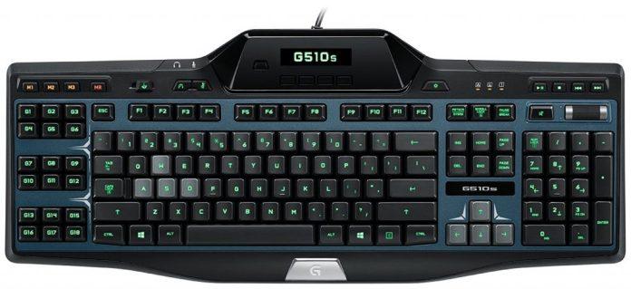 Image of the new Logitech G510 keyboard