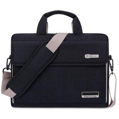 Image of unisex shoulder bag for laptops