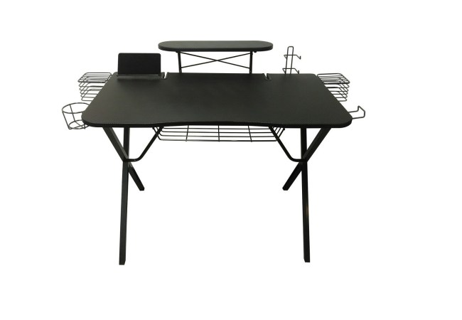 image of table with cup holder