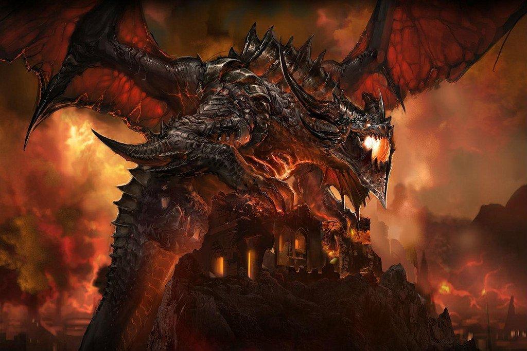 Image of Warcraft dragon