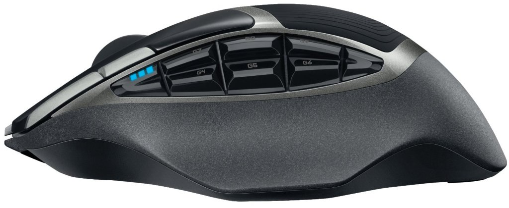Image of wireless Logitech G602 mouse