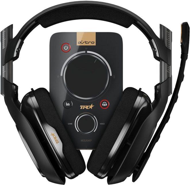 Astro PC headset with audio amp