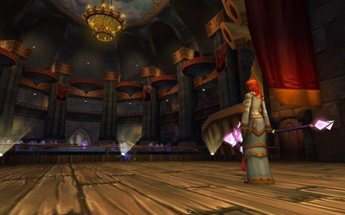 In-game screenshot from karazhan in Wow
