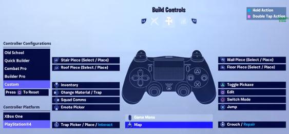Ghost Kamo Fortnite Build Controls