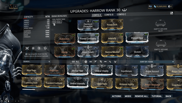 Warframe Harrow Build 2019 Guide - ProGameTalk