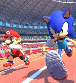 Mario and Sonic at the Olympic Games- Tokyo 2020
