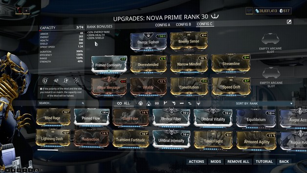 Nova Build 2020 Guide Warframe Progametalk You will mainly be sprinting to the objective and to extraction while invisible, making this warframe super easy to play. nova build 2020 guide warframe