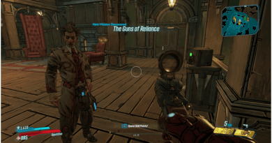 Borderlands 3 The Guns of Reliance Mission