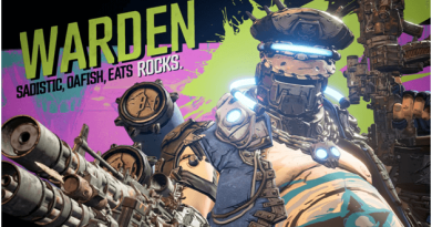 Borderlands 3 Warden Boss