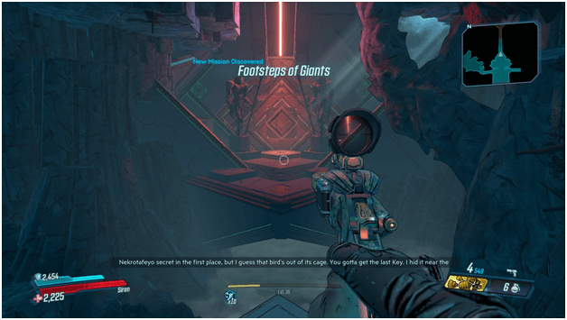 Borderlands 3 Footsteps Of Giants Mission