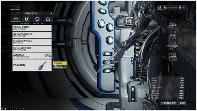 Warframe Parazon Weapon