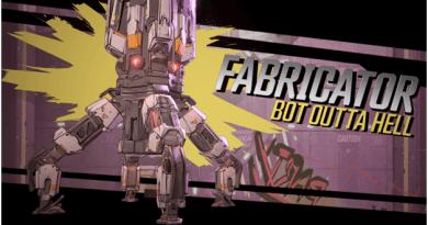 Borderlands 3 Fabricator boss