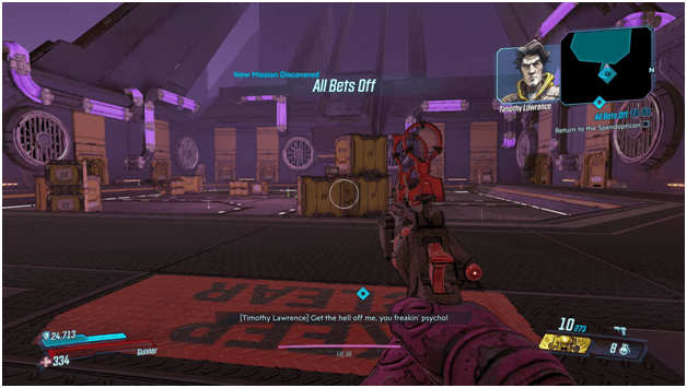 Borderlands 3 All Bets Off Mission