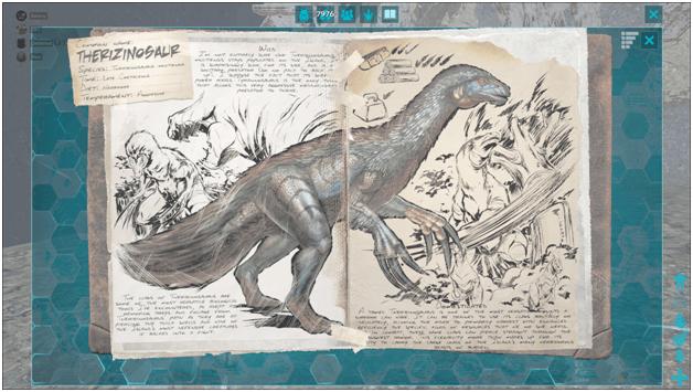 Ark Therizinosaurus Guide (Abilities, Taming, Food, Saddle, Breeding, Drops  & Location) - ProGameTalk