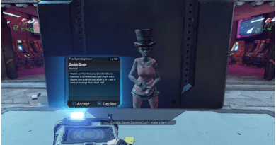 Borderlands 3 Double Down Side Quest