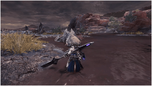 Sinister Shadows in the Swamp quest mhw