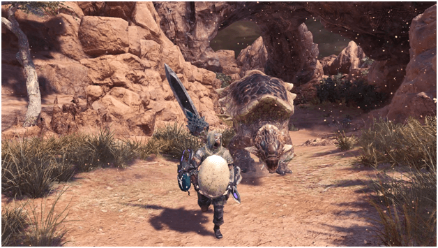 Gettin' Yolked in the Waste mhw optional quest