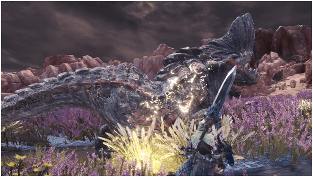 Landing the Landslide Wyvern mhw optional quest