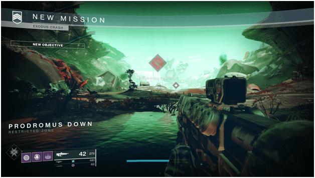 Destiny 2 Exodus Crash