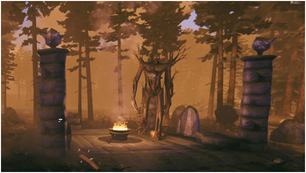 Valheim The Elder Boss Fight