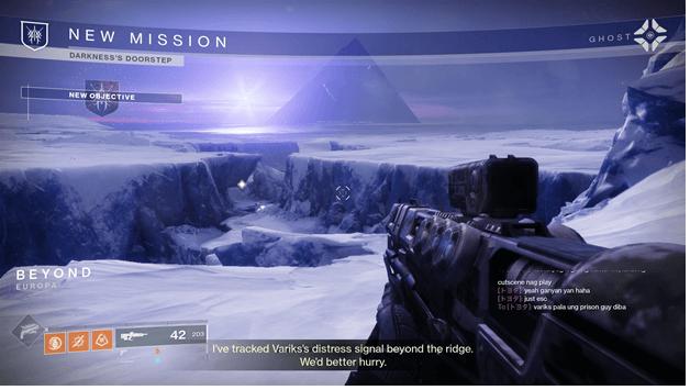Destiny 2 Darkness's Doorstep Mission