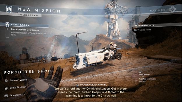 Destiny 2 Fallen Saber Strike