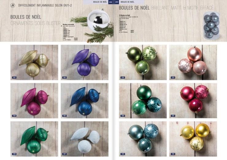 Boules de Noël pour décorer le sapin