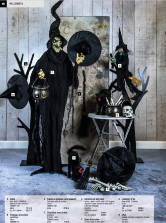 Déco de sorcière et chapeau